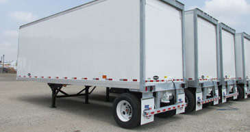 Flatbed trailers and pup trailers